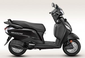 Maestro Panther Black 300x205 Hero Maestro Scooter Price & Specifications