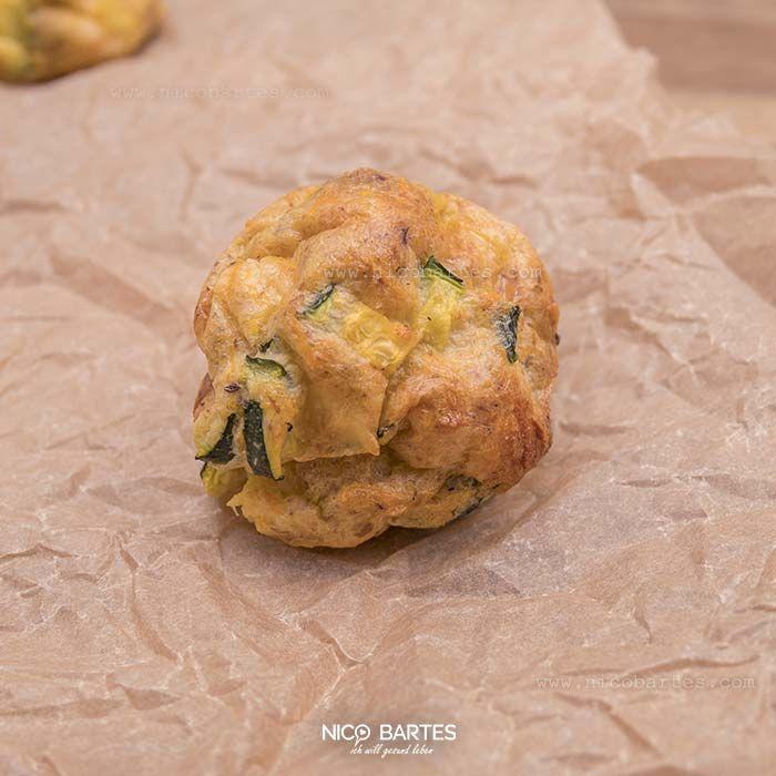 Glutenfreie Low Carb Zucchini-Bällchen