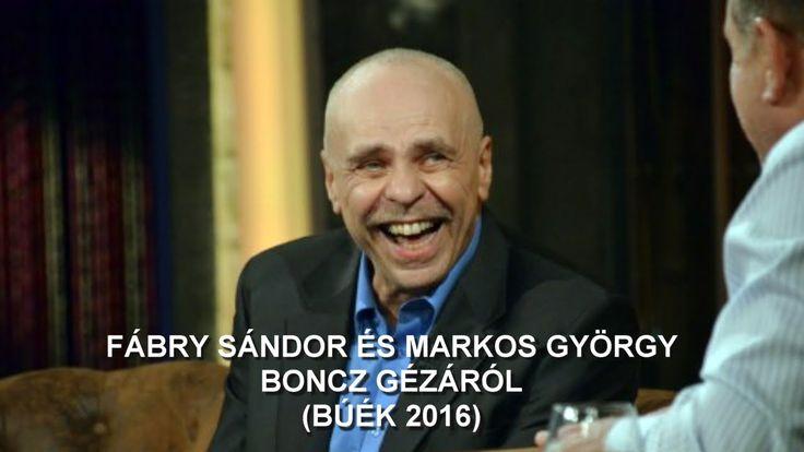 Fábry és Markos Boncz Gézáról (BÚÉK 2016)