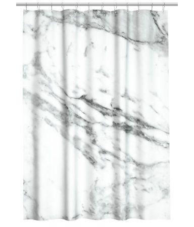 H&M Mönstrat duschdraperi 179:-