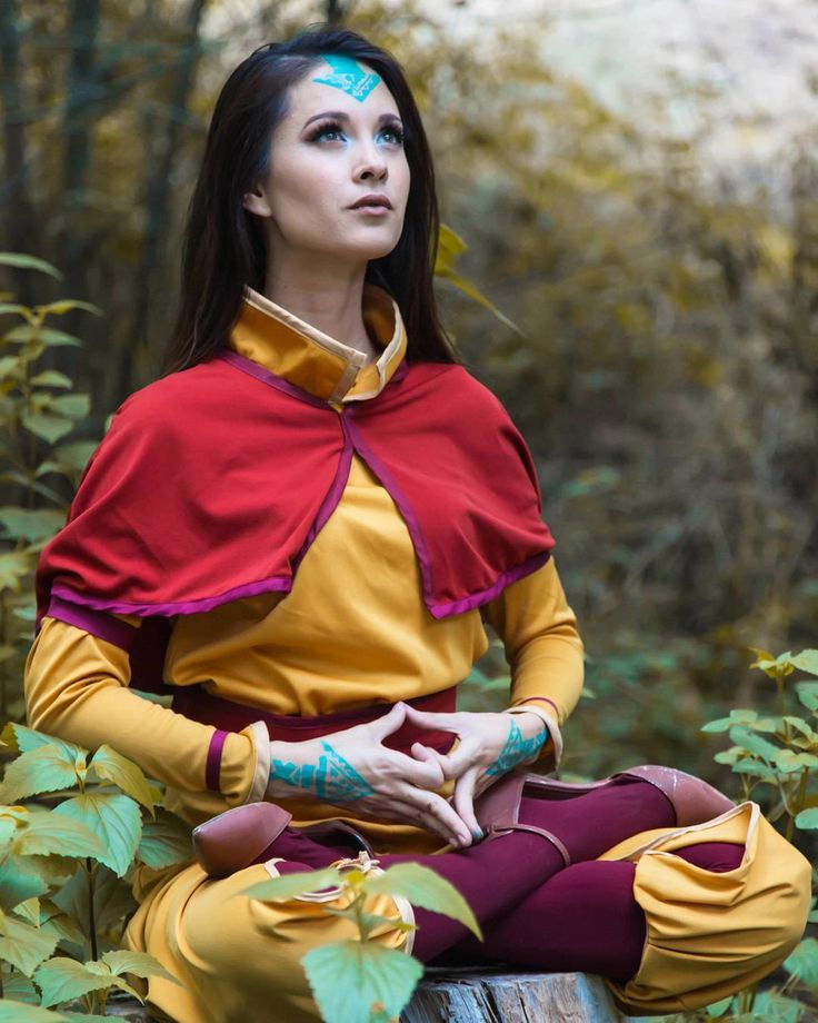 """Your words will either give you joy or give you sorrow, but if they were spoken without regret, they give you peace."" Quote by Shannon Alder // Avatar Aang #cosplay by Hendo Art"
