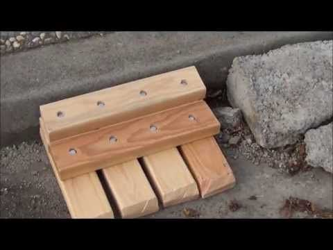 ▶ DIY Curb Ramp for Cars - YouTube