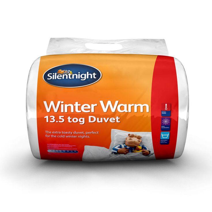 Silentnight 13.5 Tog Winter Warm Duvet (NQP) - Ultra Snug, Soft & Cosy!