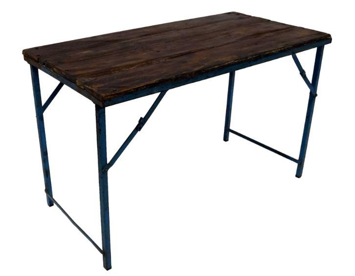 Vintage bord - Trä och stål i gruppen Bord / Matbord hos Reforma Sthlm  (SG06055)