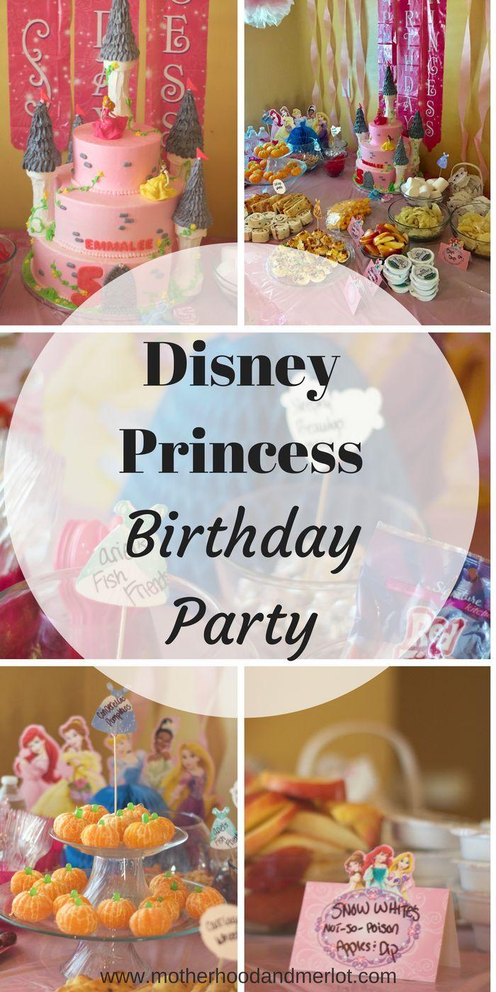 209 best Princess Party images on Pinterest | Birthdays ...