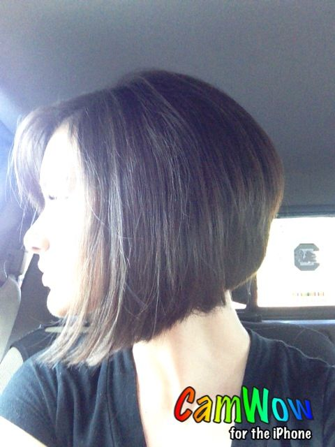 Shorter Stacked Bob Hairstyles Pinterest Bobs Hair Style And Hair Makeup