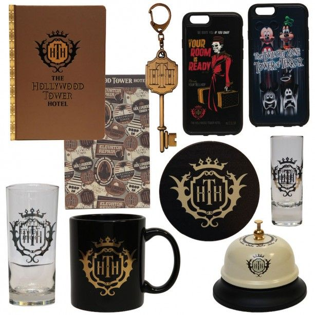 Really cool new Tower of Terror merchandise coming to Walt Disney World in February 2015. See full story here: http://disneyparks.disney.go.com/blog/2015/01/hollywood-tower-hotel-authentic-merchandise-drops-into-disney-parks-on-february-13-2015