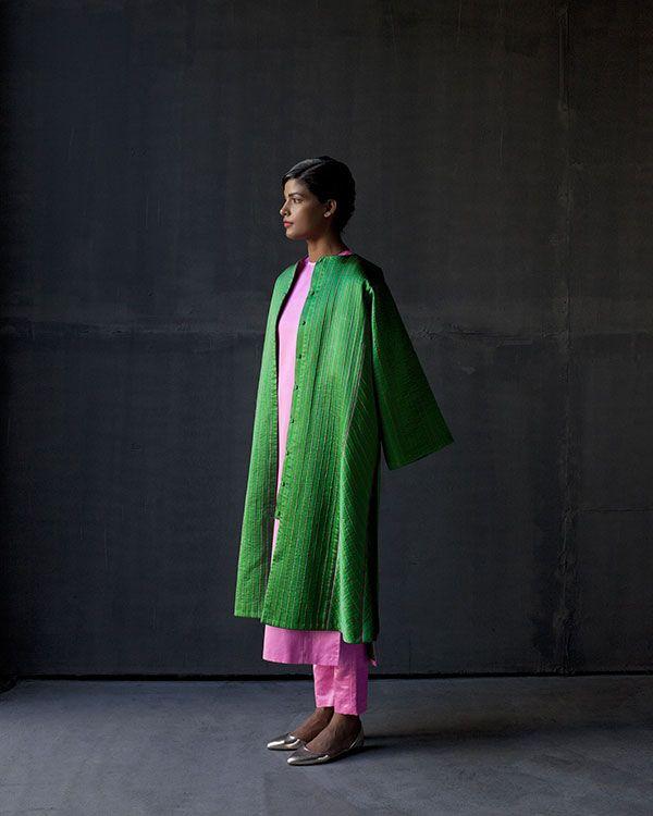Sanjay Garg Festive Raw Mango Fashion Indian Fashion Festival