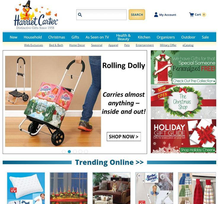 13 Free Gift Catalogs That Come In the Mail: Harriet Carter Gift Catalog