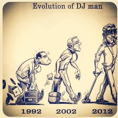 #DJ Man evolved. #edm #music