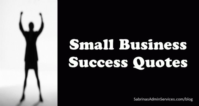 Small Business Success #Quotes