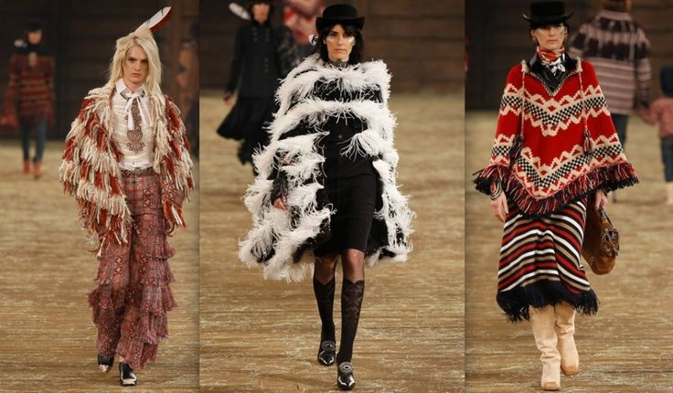 Chanel knitwear fringing