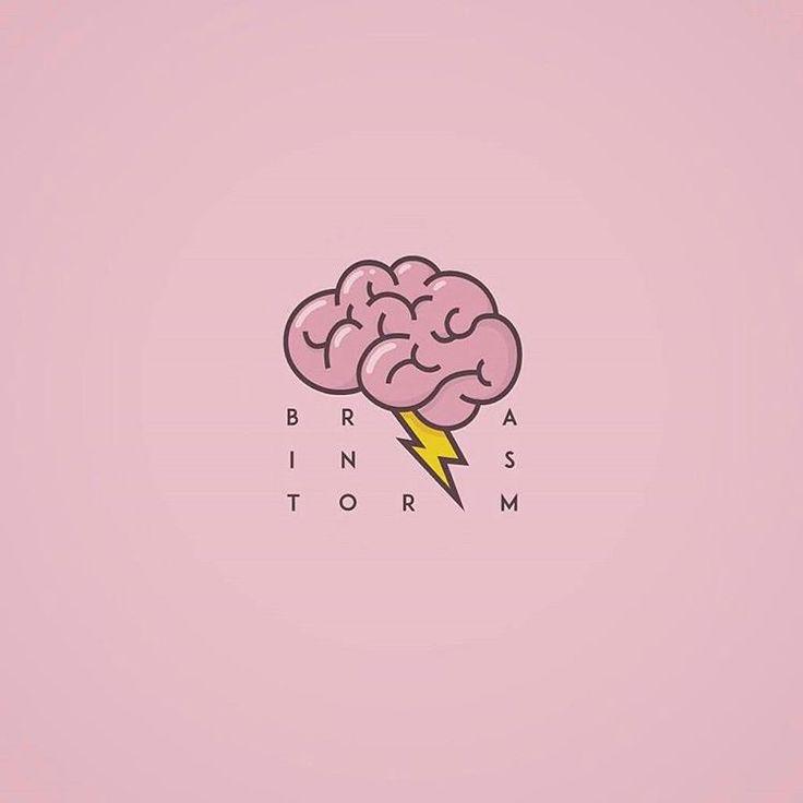 Brain storm logo design made by @abrate_emanuele