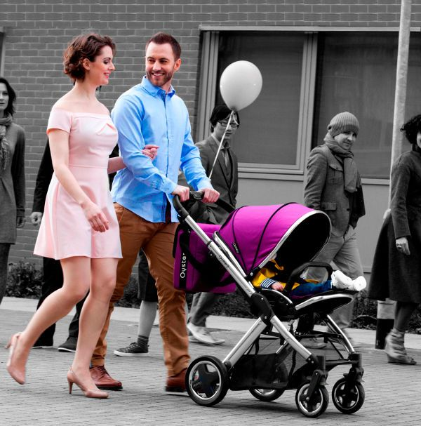 Introducing the Oyster Max - an affordable single & double pram