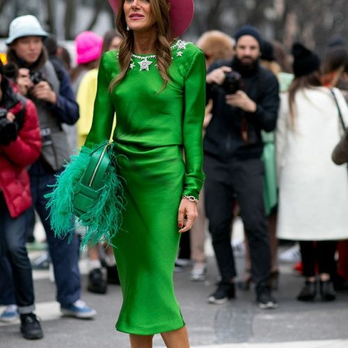 Уличная мода Милана сезо…