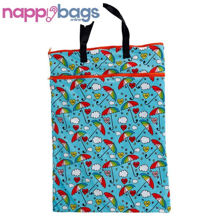 Quirky Pattern Waterproof Nappy Wet Storage Bag //Price: $18.46 & FREE Shipping //     #clothnappies