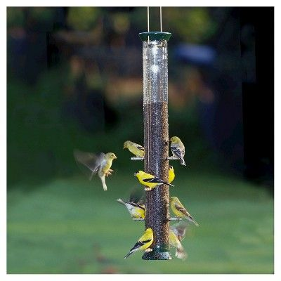 Droll Yankees New Generation 23 Nyjer Seed Feeder - Green