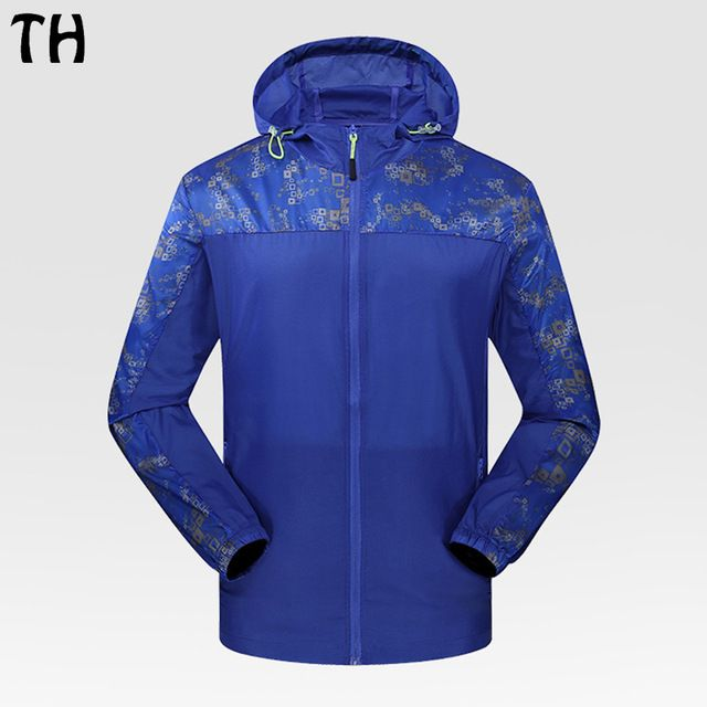 Check current price 2017 Patchwork Plus Size Summer Jacket Men Skin Coat UV Thin Ultral Light Waterproof Breathable Windbreaker Man #170286 just only $18.47 with free shipping worldwide  #jacketscoatsformen Plese click on picture to see our special price for you