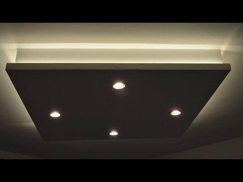 Fabriquer un coffre eclairage youtube projets for Fabriquer un faux plafond