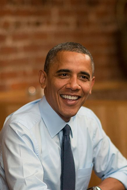 """There's one thing that makes me """"near"""" president Obama: his birthday is on the day after my birthday, ;-)))"""