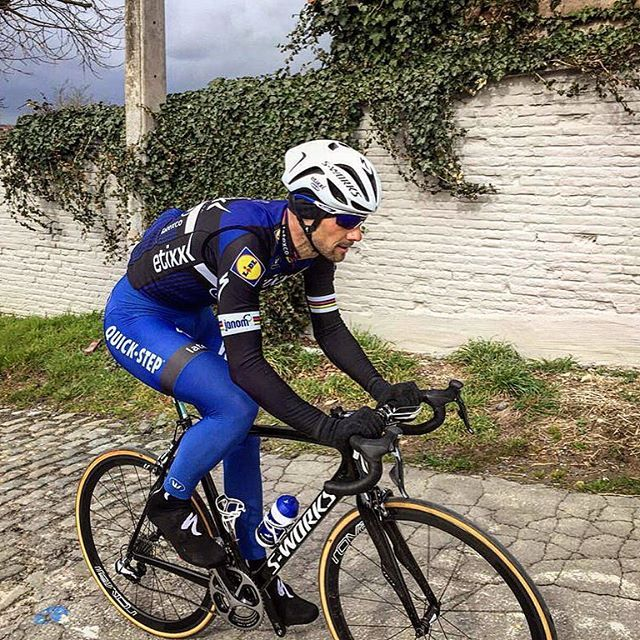 Rvv recon tom boonen on the molenberg quick step floors for Quick step floors cycling team