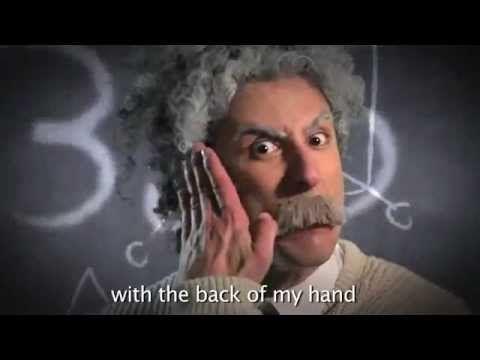 Rap Battle: Albert Einstein vs. Stephen Hawking...LOL! So FUNNY!