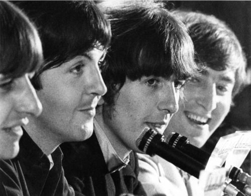 Ringo, Paul, George, and John