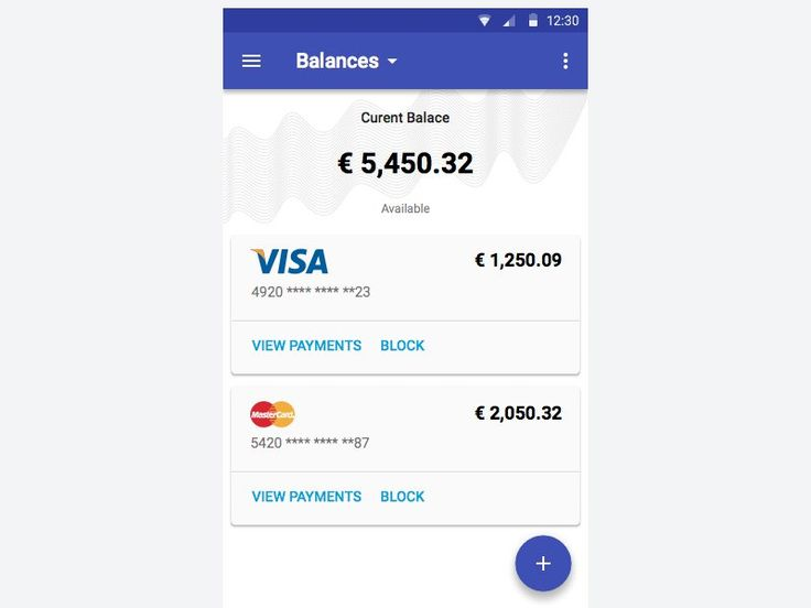 Mobile Banking App: Material Design – MaterialUp