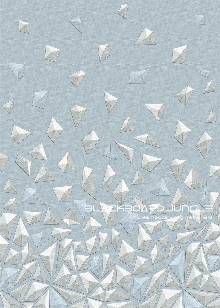 Matrix 91 ...... 3D Hand carved pyramid rug