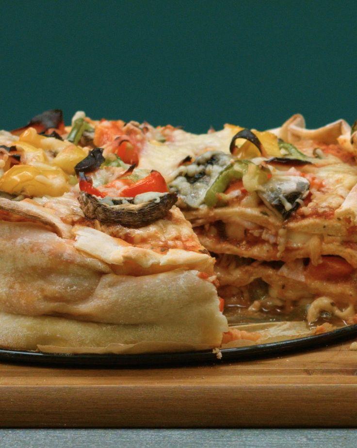 Pizza-Torte: mehrstöckig und einfach fantastisch