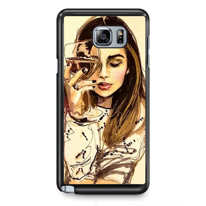 Rise Your Glass TATUM-9269 Samsung Phonecase Cover Samsung Galaxy Note 2 Note 3 Note 4 Note 5 Note Edge