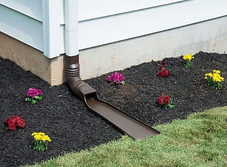 41 Unique DIY Drainage Garden to Try Now | Gutter drainage ...