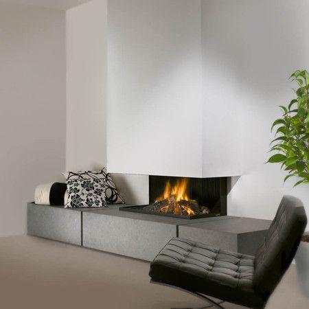designer fireplaces in Granite