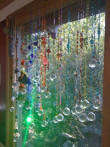 how to make beads curtain designs