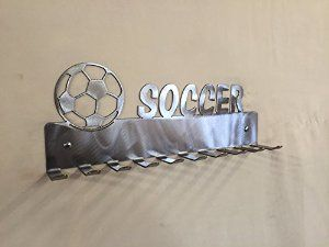 Amazon.com : Soccer Medal Display Hanger, Sports Medals Holder with Hooks : Sports & Outdoors