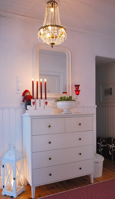 """Sweden - I could recreate the """"JUL"""" advent candles."""