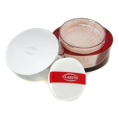 Clarins Poudre Multi-Eclat Mineral Loose Powder. Currently using this after looking for sometime (then chose Clinique and Lancôme in the meantime). Has a hint of decent fragrant, soft texture, and a bit glittery when being used on a moisturized face. So far so good. Worth the conquest to find.