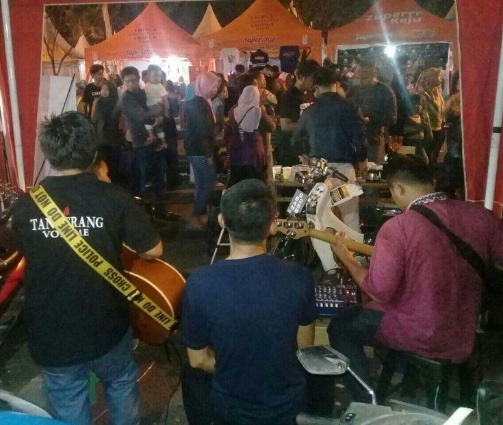 Tangerang volume Di TYF 2017 Bersama  Ryan N.G Budi N.G Alfat N.G Tetap semangat.