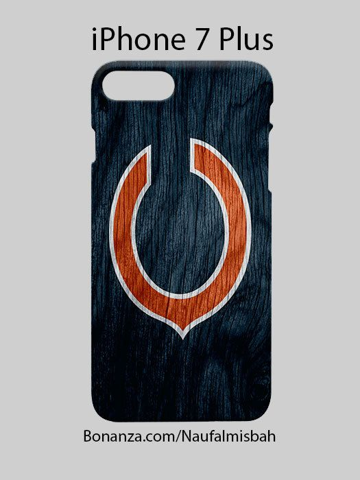 Chicago Bears Inspired iPhone 7 PLUS Case Cover Wrap Around