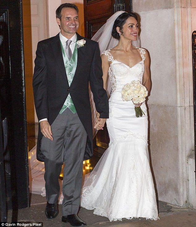 Wedding bells: Former Chelsea doctor Eva Carneiro married her partner Jason De Carteret in...