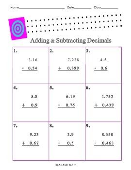 math worksheet : 1000 images about math on pinterest  decimal worksheets and  : Lining Up Decimals Worksheet