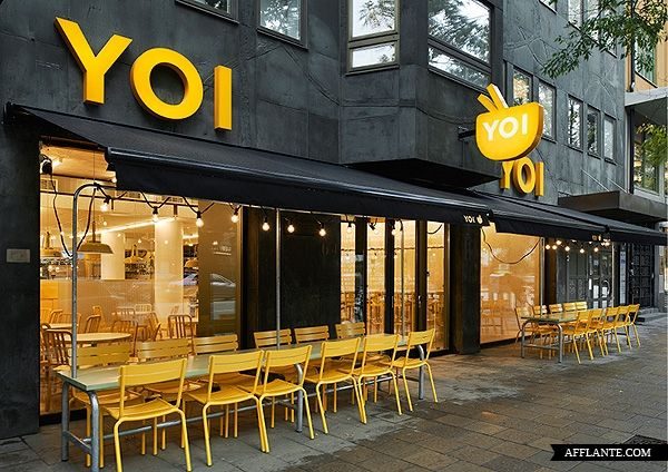 YOI Fast Food Restaurant // Lomar Arkitekter & JVD | Afflante.com