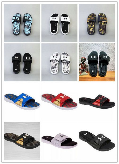 0db53cb8871 2018-2019 Summer Authentic Official Mens Slides UA Under Armour Ignite V