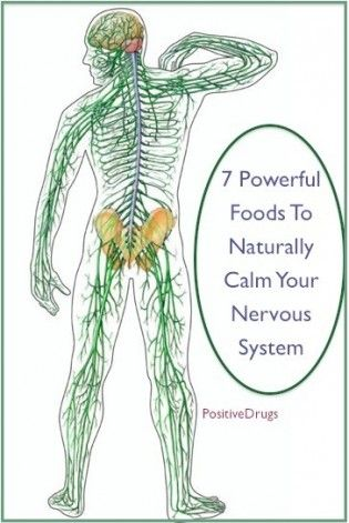 7 Powerful Foods To Naturally Calm Your Nervous System
