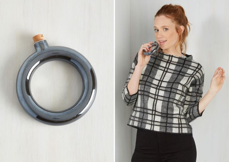 Flask bracelet and more unique white elephant gifts that'll win the holiday season
