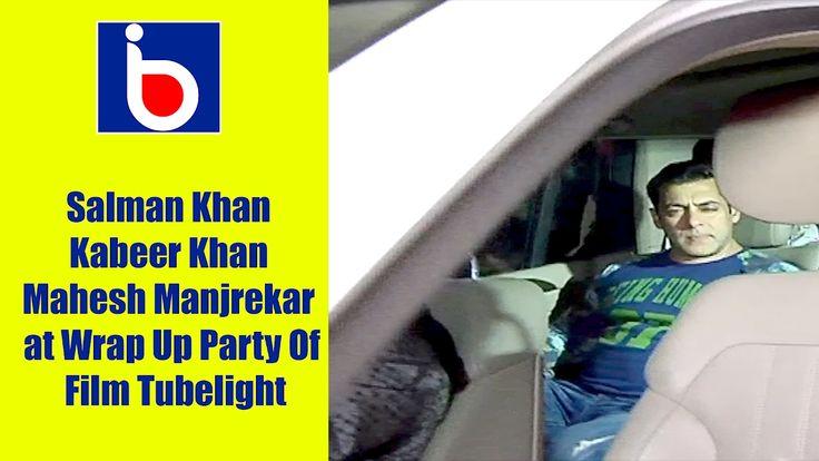Salman Khan | Kabeer Khan | Mahesh Manjrekar | Sohel Khan at Wrap Up Par...