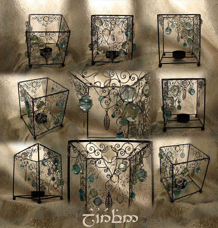 Small Lamp Wire Weaving2 By Laurefin Estelinion On