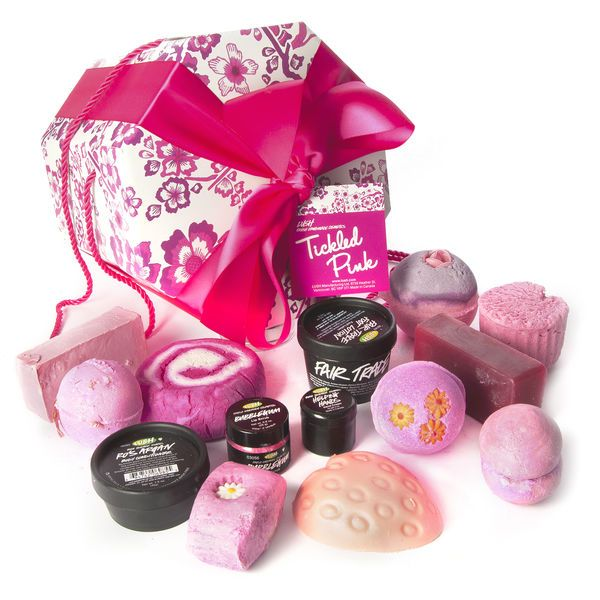 Snap Tickled Pink Gift Wrapped LUSH Cosmetics Lush
