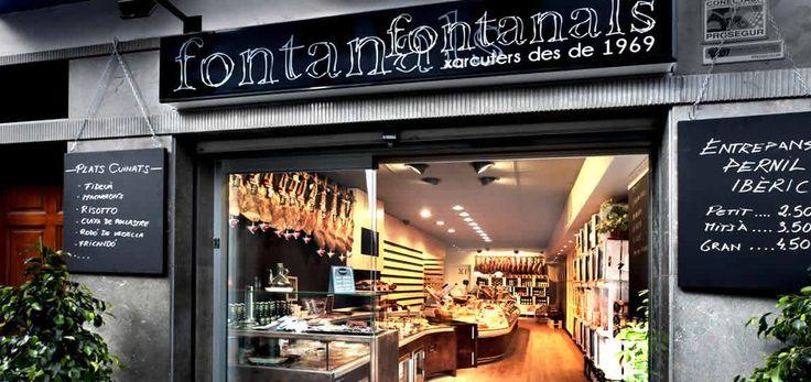 Fontanals - Sitges, Barcelona, España. Tienda Gourmet Fontanals Sitges