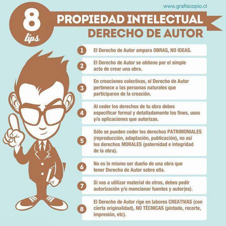 #Derechosdeautor #infografía